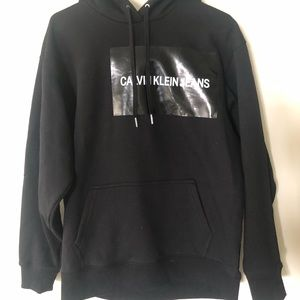 Calvin Klein Multi Institutional REL Black Hoodie